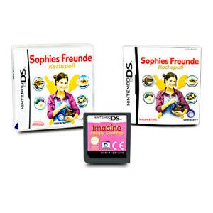Jeu-DS-Sophies-Freunde-Amusant-Cuisson-Emballage-D-039-Origine-avec-Manuel