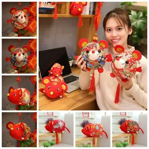 Red-Chinese-Knot-Party-Decoration-2020-New-Year-Lucky-Mascot-Cute-Mouse-Fat-Rat