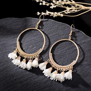 Women-Bohemian-Drop-Flower-Tassel-Earrings-Hook-Women-Round-Bohemian-Earrings