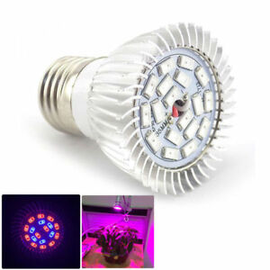 Details About Full Spectrum 18 Led Grow Light Bulb Plant Lighting Hydroponic Indoor Greenhouse
