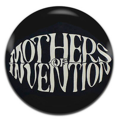 1 Inch D Pin Button Badge Frank Zappa Mothers Of Invention Band Rock 25mm