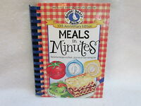 1st Printing 2012 Gooseberry Patch meals In Minutes Hardcover Cookbook