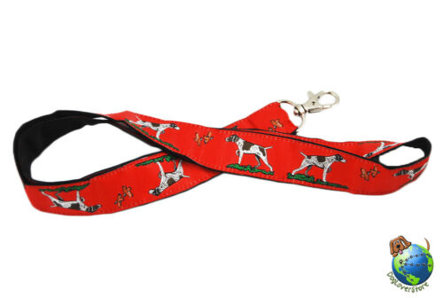 German Shorthair Pointer Lanyard Key /& Badge Holder