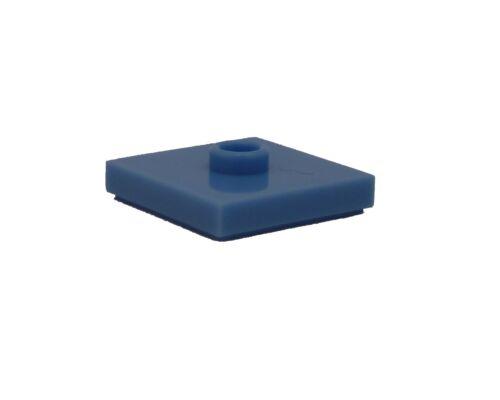 Medium Blue Tile 2 x 2 with a cam Noppe 87580 NEW Lego 100x Light Blue