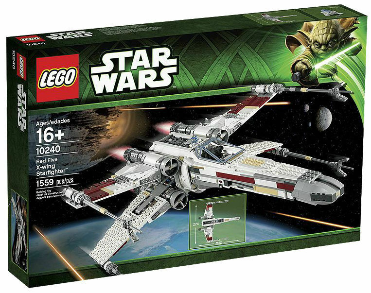 LEGO Star Wars Ultimate Collectors Series rosso Five X-wing Starfighter  10240