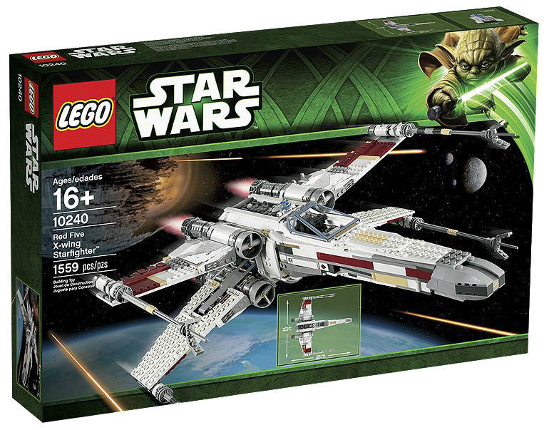 LEGO Star Wars Wars Wars 10240 rosso Five X-wing Ultimate Collector NEW SEALED RETIrosso Look 44f559