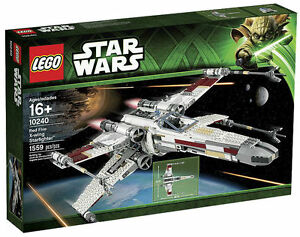 LEGO 10240 Star Wars Red Five X-wing Starfighter NIB Sealed Retired