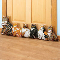 Cat Door Draft Blocker, Cute Decor Doorway Draft Blocker For Door, Save Energy