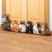 Cat Door Draft Blocker, Cute Decor Doorway Draft Blocker For Door, Save Energy