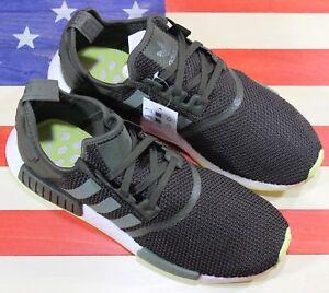 487c843b4e94f Athletic Shoes Adidas Originals NMD R1 Boost Men s Training Shoe  Night-Cargo Green White CQ2414