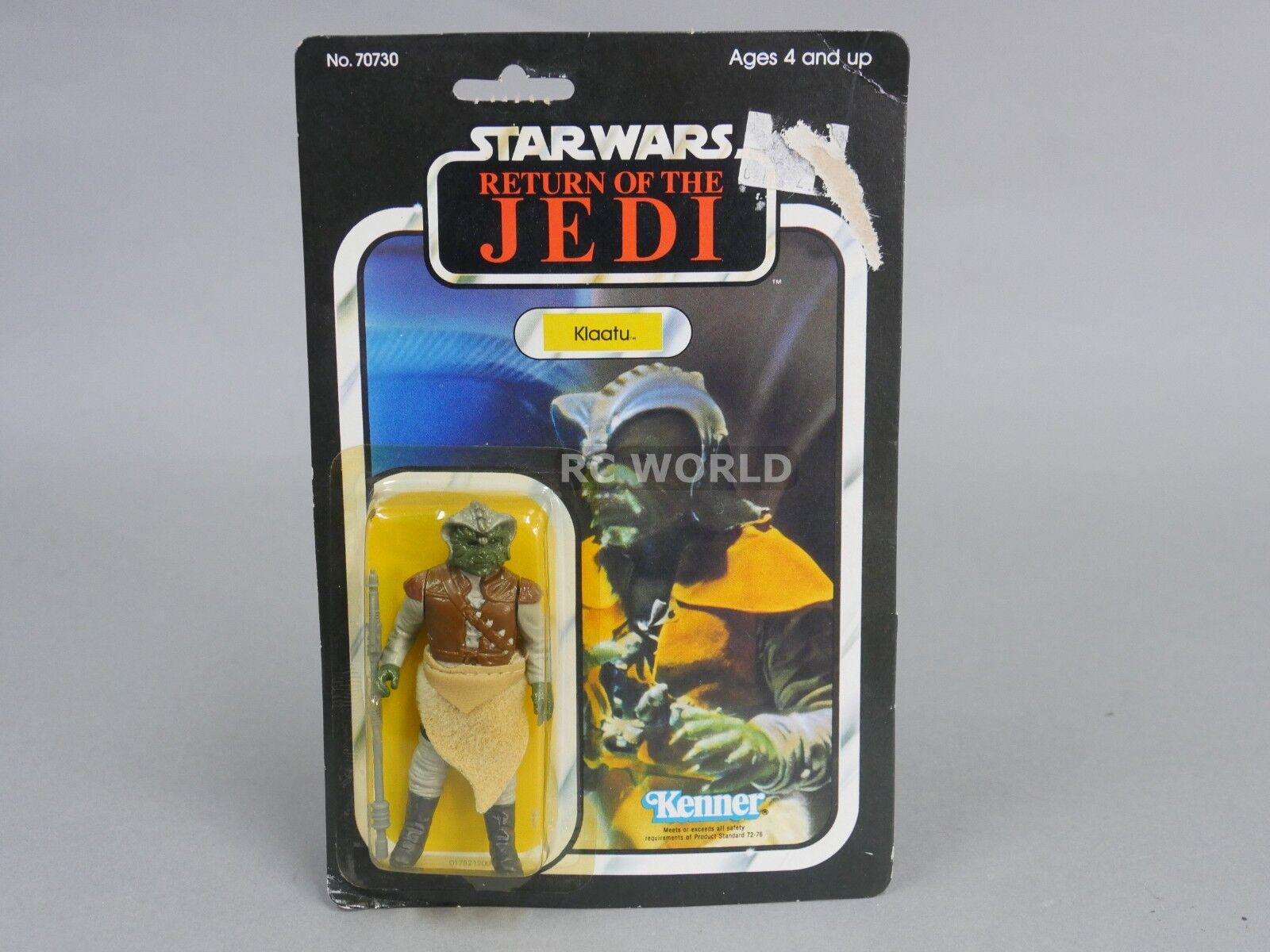 Vintage 1983 Star Wars KLAATU  Action Figure Return Of Jedi    e3a