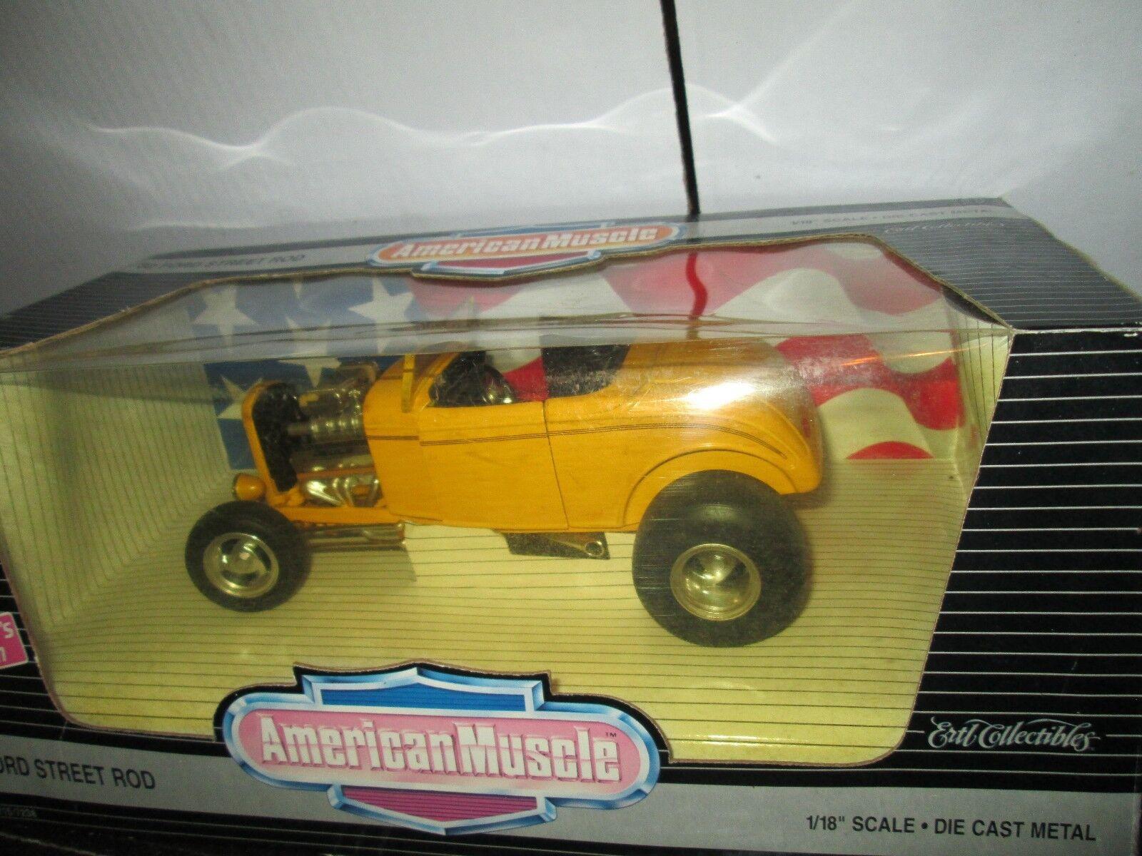32 Ford Street Rod 1932 American Muscle Muscle Muscle Serie 1995 Ertl 1 18   39b912