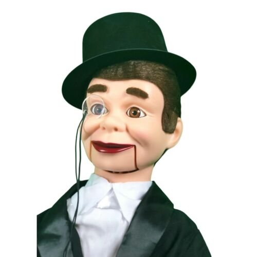 QUALITY! Charlie McCarthy Super Deluxe Upgrade Dummy Moving Eyes /& Eyebrows