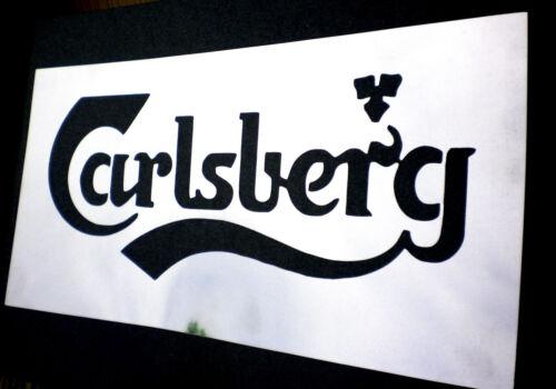 high detail airbrush stencil carlsberg logo FREE UK  POSTAGE