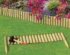 Garten Terasse Palisade Schneckenzaun Kunststoff 12 Steckelemente Prosperplast