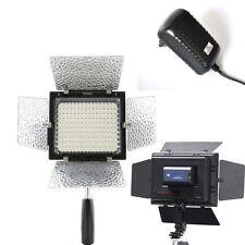 Yongnuo YN-160 LED Video Light +AC Adapter for Nikon Nikon D7100 D5100 D3300 D90