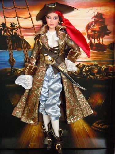 El Pirata  oro Label Ltd 9.300 Bucanera Barbie  Nrfb