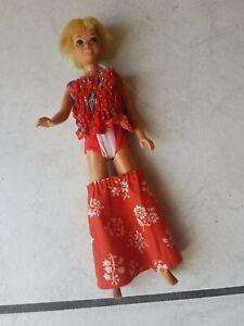 Barbie-Puppe-70-er-Jahre-Puppe-Skipper-bekleidet