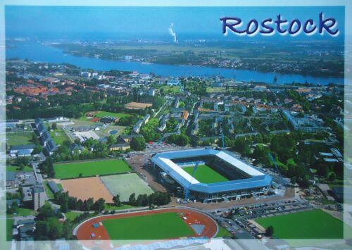 Stadionpostkarte Rostock Luftbild # 304
