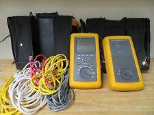 Fluke Networks Dsp 100 Cat5 Lan Cable Tester Digital Cablemeter Dsp 100 Nc65