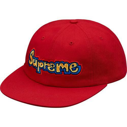 b2ac79f656f Supreme Gonz Logo 6-panel Cap Hat Red Ss18 100 Authentic for sale online