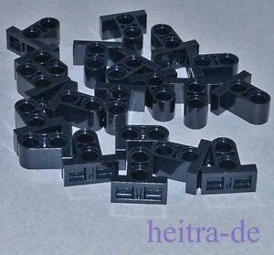 LEGO-Technik-20-Verbinder-schwarz-1x2x1-2-3-mit-Fuss-32530-NEUWARE