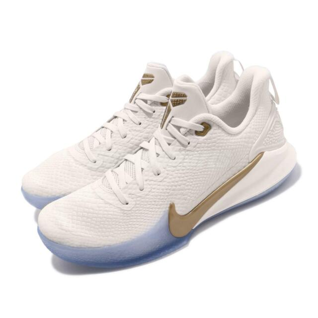 buy popular 36d75 d2e5f Nike Mamba Focus EP Kobe Bryant Phantom Gold Men Basketball Shoes AO4434-004