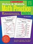Solve & Match Math Practice Pages, Grades 2-3  : 50+ Motivating, Self-Checking Activities That Help Kids Review and Master Essential Math Skills by Eric Charlesworth (Paperback / softback, 2011)