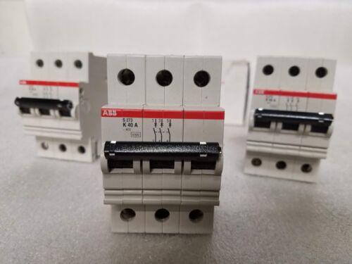 Box of 3 New. ABB S273 K40A GH S273 0001 R0557