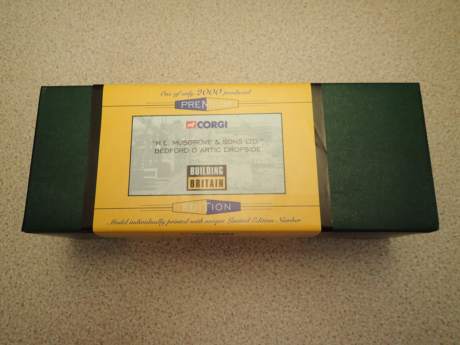Corgi 1 50 Premium Edition 18404 Bedford O Artic Dropside Musgrove Untouched
