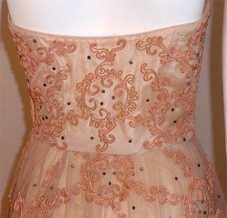 CEIL CHAPMAN 1960s Vintage Cocktail Dress - image 8