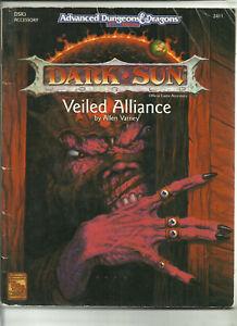 Hospitalier Tsr, Ad&d Rpg (2nd Edition) - Dark Sun, Dsr3 La Voilée Alliance (1992)-afficher Le Titre D'origine