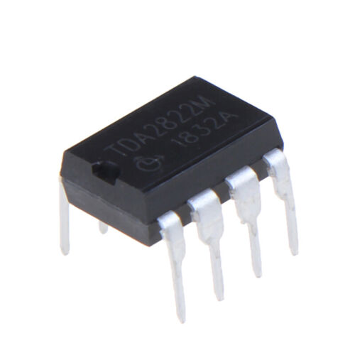10PCS TDA2822M multipurpose and original IC audio power amplifiers inline DIPSJ