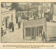 1954 Saltash Fore Street Prefab Shop Erected Dingle And Son Post Office