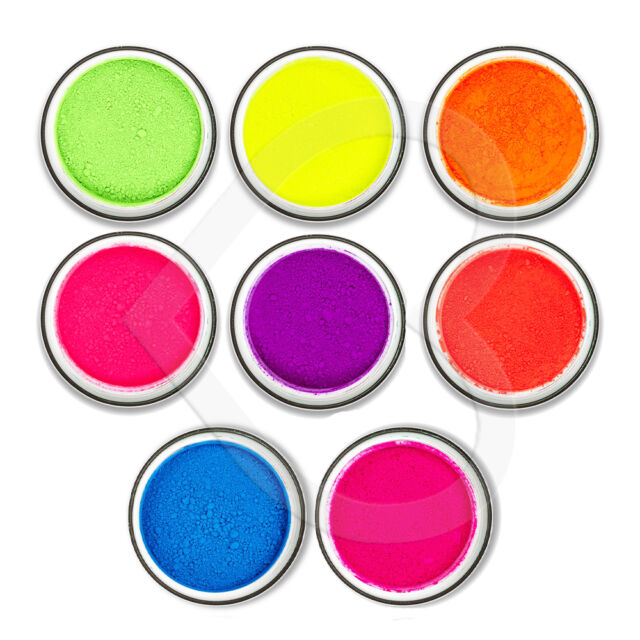 Stargazer UV Neon Glow Loose Eye Shadow Dust Rave Festival Bright Reactive