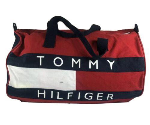 Vintage Tommy Hilfiger Duffle Bag Large 90s Backpa