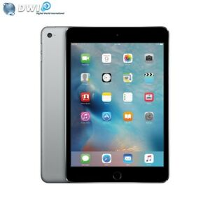 NUEVO APPLE IPAD MINI 4 128GB RETINA DISPLAY WIFI TABLET GRIS SPACE GRAY MK9N2