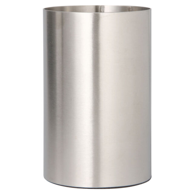 Muji Stainless Steel Round Pen Stand Holder Pot Desk Organizer Moma