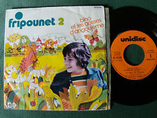 BINO & LES GOSSES D'ANGOULEME: FRIPOUNET / 2 - EP 1974 French UNIDISC EX 45538