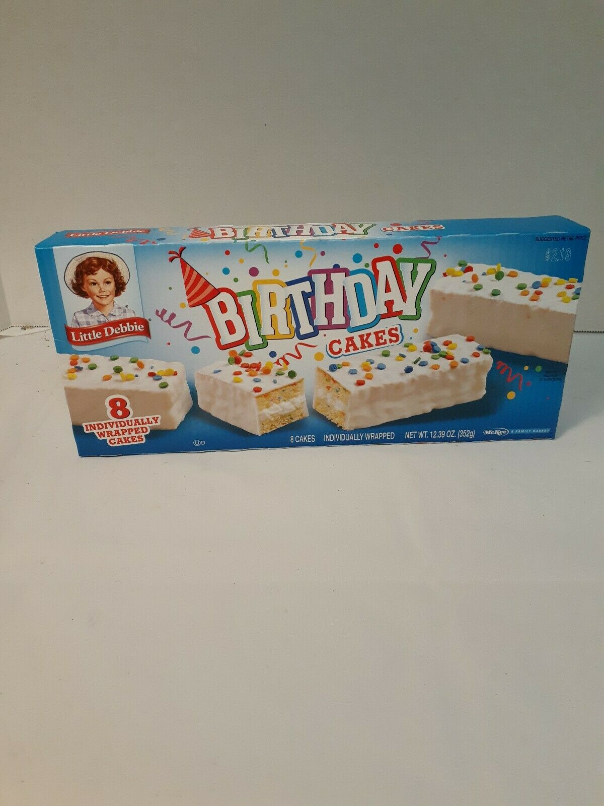 Pleasant Little Debbie Birthday Cakes 24 75 Oz For Sale Online Funny Birthday Cards Online Eattedamsfinfo