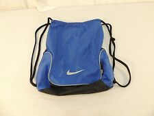 Nike Gym Bag Blue, Grey, and Black RN#56323 100% Nylon Very Nice! Cool 12973