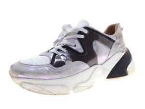 Mjus Damen Schuhe Sneaker Laufschuhe Freizeitschuhe Gr 39 Weiß Kombi Leder