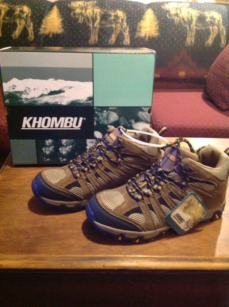 NIB Khombu Hiking Boots, Taupe Yellow, 726452. Mens Size 13