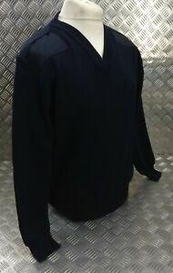 Genuine British M.o.D and Police Spec Navy V Neck Uniform Pullover XX Large JP2