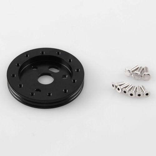"""Black Aluminum 0.5/"""" Hub For Vehicle Off-Road 5 /& 6 Hole Steering Wheel Universal"""