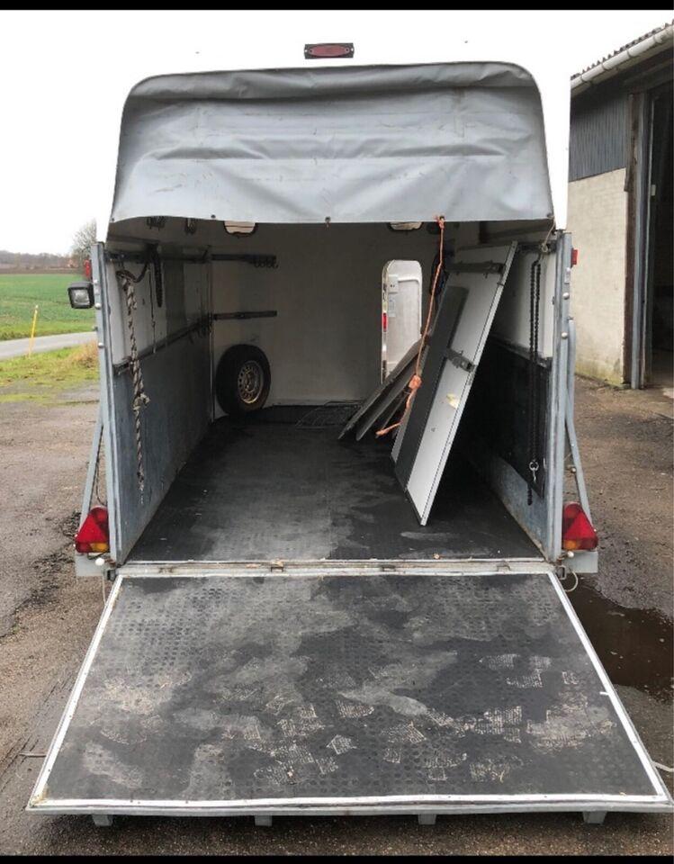 Hestetrailer, Cheval 3500, lastevne (kg): 2200