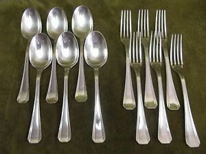 6-couverts-dessert-metal-argente-christofle-Boreal-dessert-forks-spoons