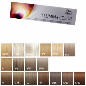 wella illumina color 60 ml freie farbwahl ebay. Black Bedroom Furniture Sets. Home Design Ideas