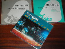 3 CD maxi KIM ENGLISH nite life I KNOW A PLACE time for love MORALES e-smoove