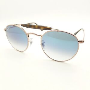 4289efdaed Ray Ban 3747 9035 3F Copper Blue Fade 50mm Sunglasses New Authentic ...